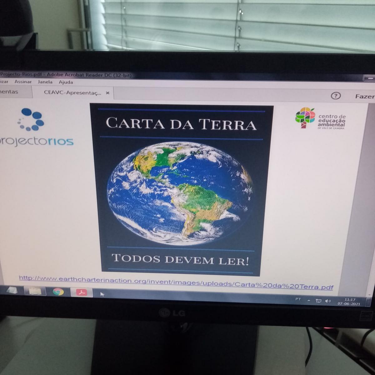 Projetos na área ambiental (por exemplo): Projeto Rios, CEA, cobras de Portugal
